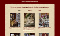 Voilà! Charming Home Accents: A unique shopping experience awaits you!  Walnut Creek, CA,  Lafayette, CA and Pleasant Hill, CA border.