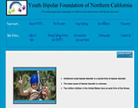The Youth Bipolar Foundation of Northern California provides hope, community and support to children and adolescents with bipolar disorder and their families.